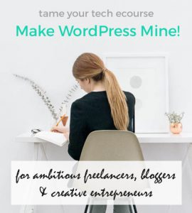 make-wordpress-mine-page-banner