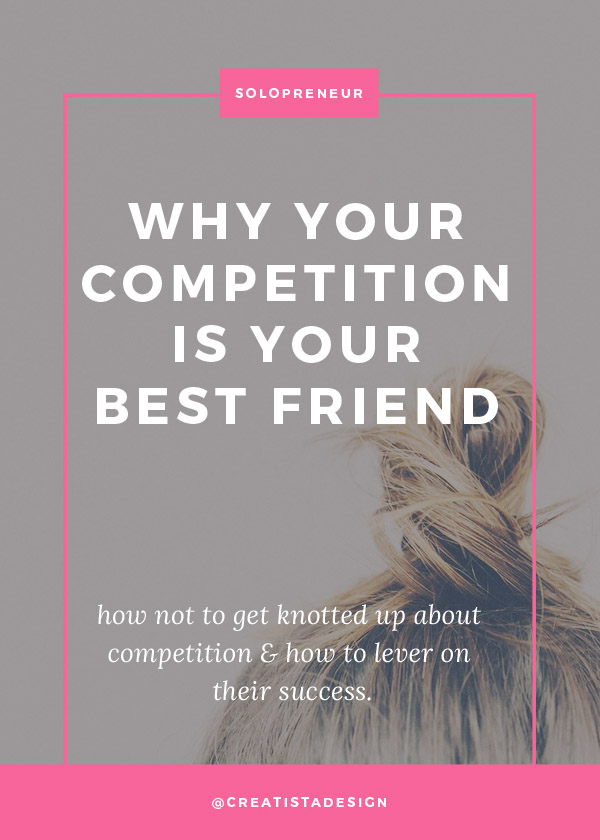 Why your competition is your best friend