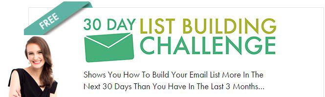 Nathlie Lussier 30 Day List Building Challenge